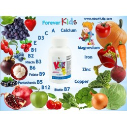 Vitamine pentru copii de la Forever Living